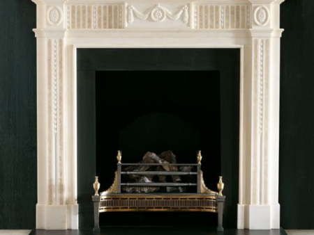 The Albemarle fireplace