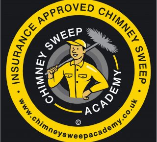 insurance approved chimney sweep logo
