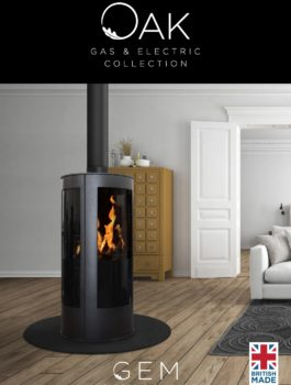 Oak Stoves Gas & Electric Collection