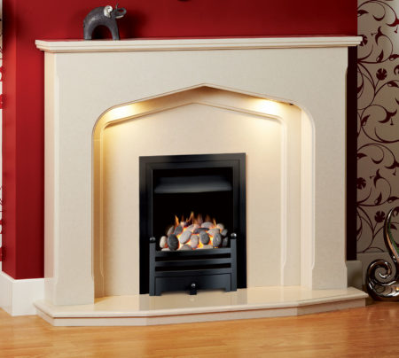 Winchester Micro Marble Fireplace
