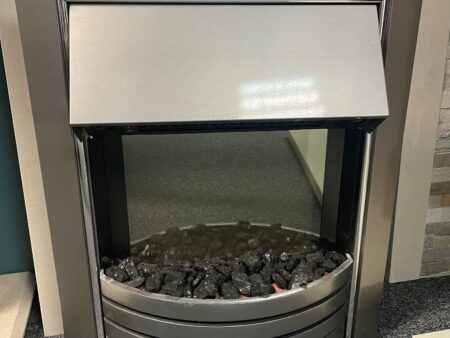 Dimplex Freeport Chrome electric inset fire Was £470 NOW £150