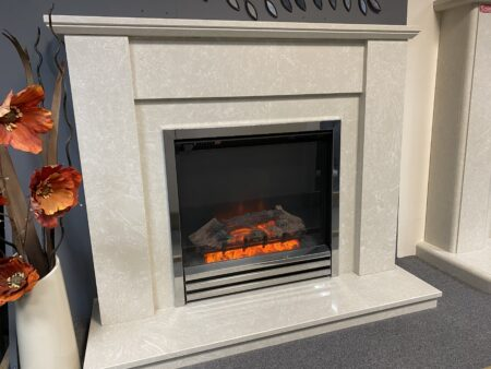 Elgin Hall Cotsmore Electric Suite in Manila Ex-Display(Colchester Shop)